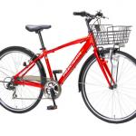 背中のリュック汗解消にカゴ付きクロスバイクという選択肢